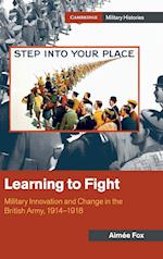 Learning to Fight (Cambridge Military Histories)