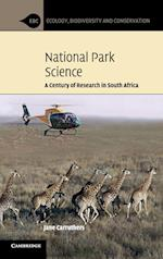 National Park Science (Ecology, Biodiversity And Conservation)