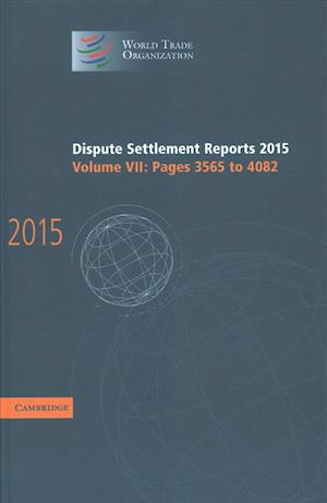 Bog, hardback Dispute Settlement Reports 2015 af World Trade Organization