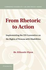 From Rhetoric to Action (Cambridge Disability Law and Policy Series)