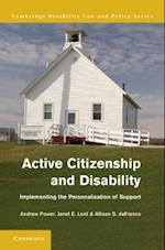 Active Citizenship and Disability (Cambridge Disability Law and Policy Series)