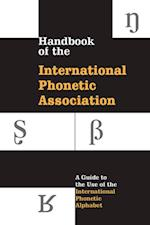 Handbook of the International Phonetic Association
