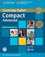 Compact Advanced Student's Book Pack (Student's Book with Answers with CD-ROM and Class Audio CDs(2)) af Peter May