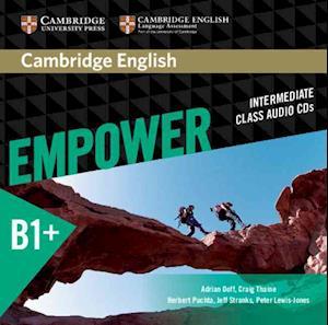 Cambridge English Empower Intermediate Class Audio CDs (3)