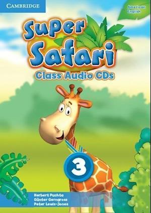 Super Safari American English Level 3 Class Audio CDs (2)