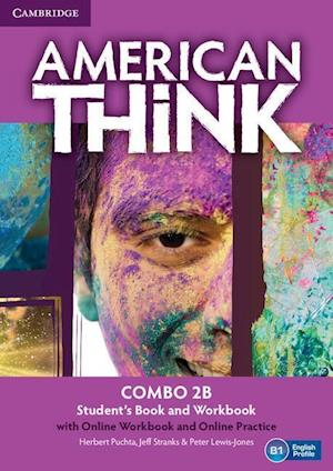 American Think Level 2 Combo B with Online Workbook and Online Practice