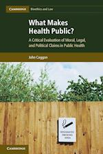 What Makes Health Public? (Cambridge Bioethics and Law, nr. 15)