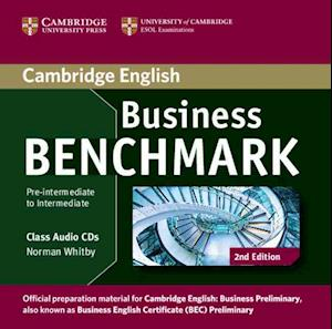 Business Benchmark Pre-intermediate to Intermediate Business Preliminary Class Audio CDs (2)