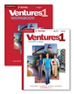 Ventures Level 1 Value Pack - Student's Book With Audio CD and Workbook with Audio CD (Ventures)