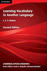 Learning Vocabulary in Another Language (Cambridge Applied Linguistics Series)