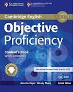 Objective Proficiency Student's Book with Answers with Downloadable Software (Objective)