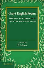 Gray's English Poems af Thomas Gray