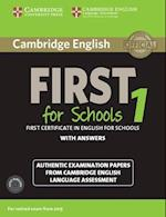 Cambridge English First 1 for Schools for Revised Exam from 2015 Student's Book Pack (Student's Book with Answers and Audio CDs (2)) (Fce Practice Tests)