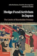 Hedge Fund Activism in Japan af John Buchanan