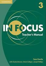 In Focus Level 3 Teacher's Manual af Sara Davila
