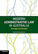 Modern Administrative Law in Australia af Matthew Groves