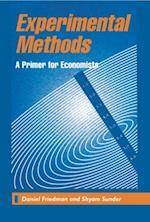 Experimental Methods af Shyam Sunder