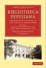 Bibliotheca Pepysiana af Edward Gordon Duff
