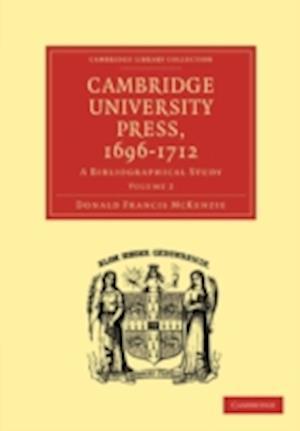 Cambridge University Press, 1696-1712