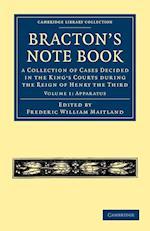 Bracton's Note Book af Henry De Bracton, Frederic William Maitland