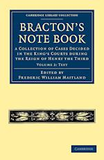Bracton's Note Book af Frederic William Maitland, Henry De Bracton