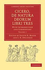 Cicero, de Natura Deorum Libri Tres 3 Volume Set