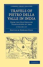 Travels of Pietro Della Valle in India 2-Volume Set af Pietro Della Valle, Della Valle Pietro