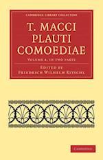 T. Macci Plauti Comoediae 2 Part Set