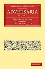 Adversaria af Peter Paul Dobree, James Scholefield