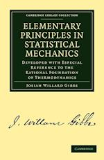 Elementary Principles in Statistical Mechanics af Josiah Willard Gibbs