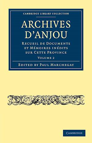 Archives d'Anjou