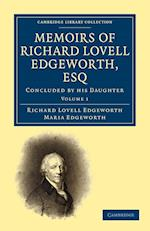 Memoirs of Richard Lovell Edgeworth, Esq af Maria Edgeworth, Richard Lovell Edgeworth