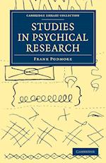 Studies in Psychical Research af Frank Podmore