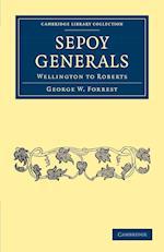 Sepoy Generals af George W. Forrest