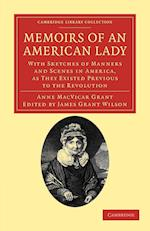 Memoirs of an American Lady af James Grant Wilson, Anne MacVicar Grant