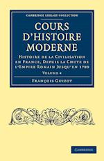 Cours d'Histoire Moderne af Francois Guizot