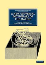 A New Universal Dictionary of the Marine af William Falconer, William Burney