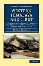 Western Himalaya and Tibet af Thomas Thomson