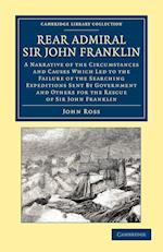 Rear Admiral Sir John Franklin af John Ross