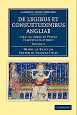 De Legibus Et Consuetudinibus Angliae af Henry De Bracton