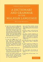 A Dictionary and Grammar of the Malayan Language af William Marsden