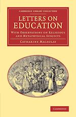 Letters on Education (Cambridge Library Collection - Education)