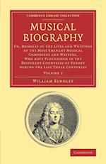 Musical Biography af William Bingley