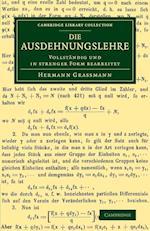 Die Ausdehnungslehre af Hermann Grassmann