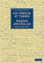 Six Temples at Thebes, Naqada and Ballas af William Matthew Flinders Petrie, J. E. Quibell