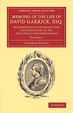 Memoirs of the Life of David Garrick, Esq. af Thomas Davies