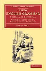 A New English Grammar af Henry Sweet