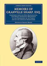 Memoirs of Granville Sharp, Esq. af Granville Sharp