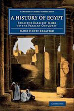 A History of Egypt af James Henry Breasted