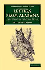 Letters from Alabama (U.S.) af Philip Henry Gosse